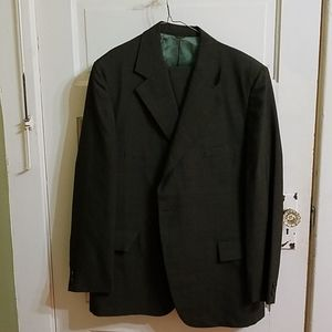 Vintage mens green suit